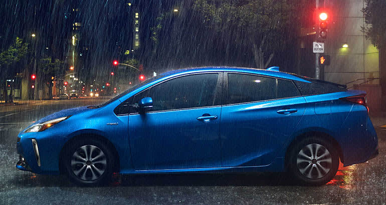 2019 Toyota Prius Gains Optional All Wheel Drive