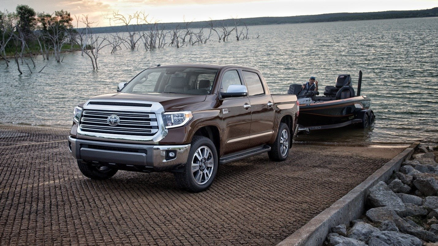Get The Job Done With Toyota Tundra At Keith Pierson